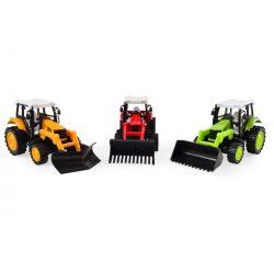 Hátrahúzós játék traktor, többféle, Magni