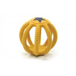 Fejlesztő szilikon labda sárga Magni