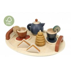 Teázós készlet fából Magni
