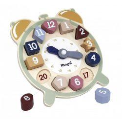 Fa óra kivehető számokkal Magni