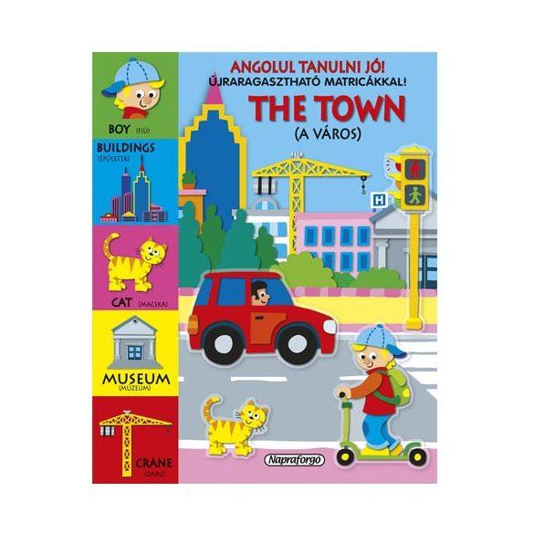 Angolul tanulni jó! matricákkal - The town Napraforgó