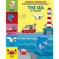 Angolul tanulni jó! matricákkal - The sea Napraforgó