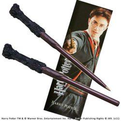 Harry Potter varázspálcás toll és könyvjelző Harry Potter