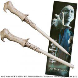 Voldemort varázspálcás toll és könyvjelző Harry Potter