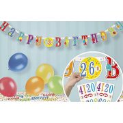 Happy Birthday Lufis Szülinapi Party Banner