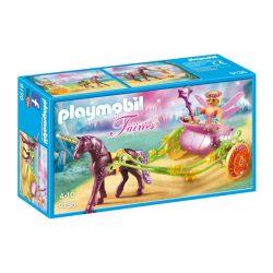 Virágtündér unikornis hintón Playmobil