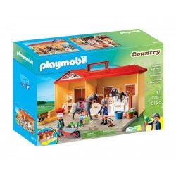 Hordozható - Istálló Playmobil