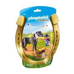 Csillagfény és lovasa Playmobil