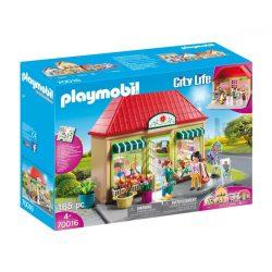 Kisvárosi virágbolt 70016 Playmobil City Life
