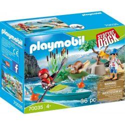Kenu edzés 70035 Playmobil Starter Pack