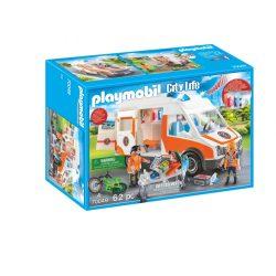 Mentőautó villogó fényekkel 70049 Playmobil