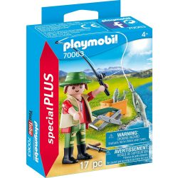 Pisztránghorgász Playmobil