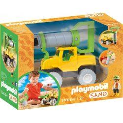 Talajfúró jármű Playmobil