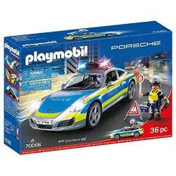 Porsche 911 Carrera 4S Rendőrség Playmobil