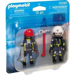 Duo Pack tűzoltók Playmobil
