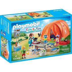 Családi kemping Playmobil