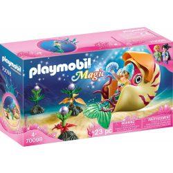 Sellő tengeri csiga gondolával Playmobil