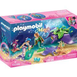 Gyöngygyűjtők rájákkal Playmobil