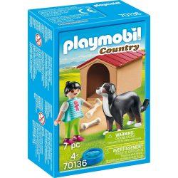 Házőrző kutyaházzal Playmobil