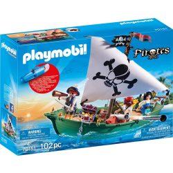 Kalózhajó víz alatti motorral Playmobil