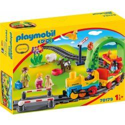 1.2.3 Az első kisvasútam Playmobil