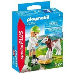 Állatorvosnő kisborjúval 70252 Playmobil