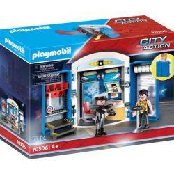 """Játékbox """"A rendőrállomáson"""" 70306 Playmobil"""