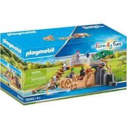 Oroszlánok szabad kifutón 70343 Playmobil