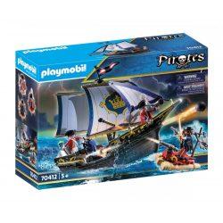 Piros zubbonyos katonák hajója 70412 Playmobil Pirates