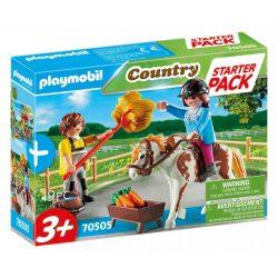 Starter Pack Lovasudvar kiegészítő szett 70505 Playmobil