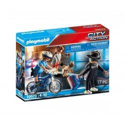 Rendőrségi bicikli: Zsebtolvaj nyomában 70573 Playmobil