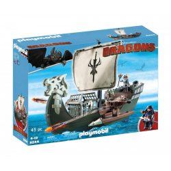 Playmobil -  Dragons Drákó hajója Így neveld a sárkányod