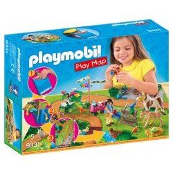 Play Map Pónilovaglás Playmobil