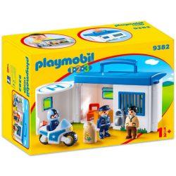 Hordozható rendőrség kicsiknek Playmobil 9382