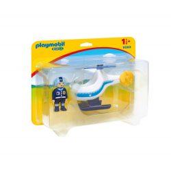 Rendőrségi kishelikopter Playmobil 9383