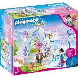 Kristálykapu a téli világba Playmobil 9471