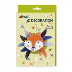 3D dekorációs puzzle, Róka Avenir