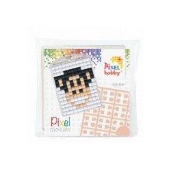 Pixel Kulcstartó szett (kulcstartó alaplap + 3 szín) majom