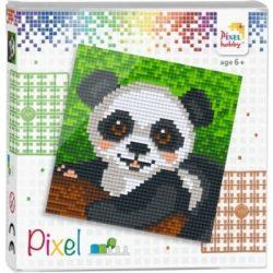 Pixel szett 4 alaplapos - Panda