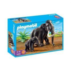 Mammut és kölyke