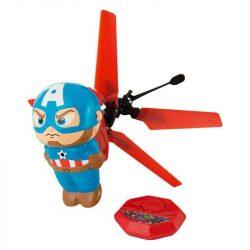Amerika kapitány Heliball repülő helikopter figura