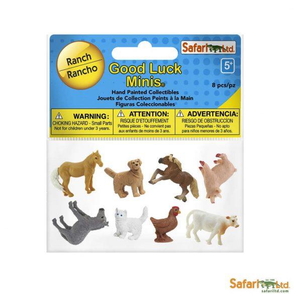 Fun Pack Ranch-Móka csomag tanyasi állatok-Safari