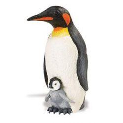 Emperor Penguin with Baby-Pingvin picinyével-Safari