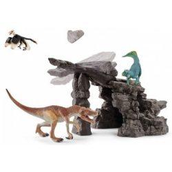 Dinoszaurusz készlet barlanggal Schleich
