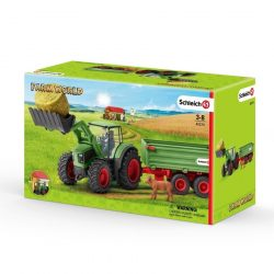 Pótkocsis traktor 42379 Schleich