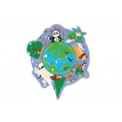 Forma puzzle-A világ Scratch Europe