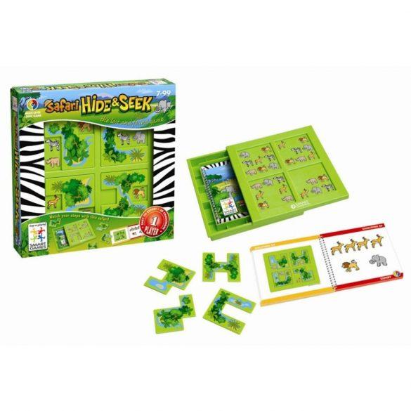 Állatrejtő - Hide&Seek Safari Smart Games