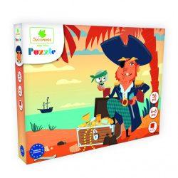 Puzzle -Kalózok 56 db-os Sycomore