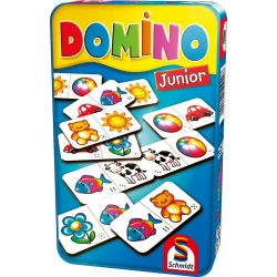 Domino Junior fémdobozban Schmidt