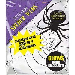 UV Fényben Világító Pókháló - 100 gramm
